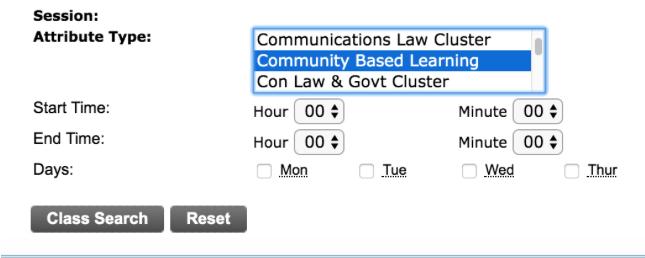 CBL Courses