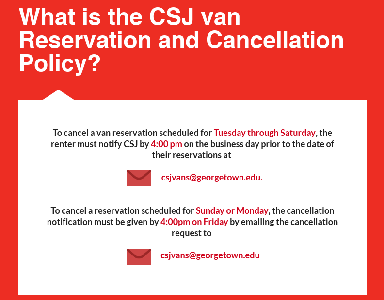 Sixth portion of CSJ Van Infographic, all text on infographic is written out below infographics in text on our website