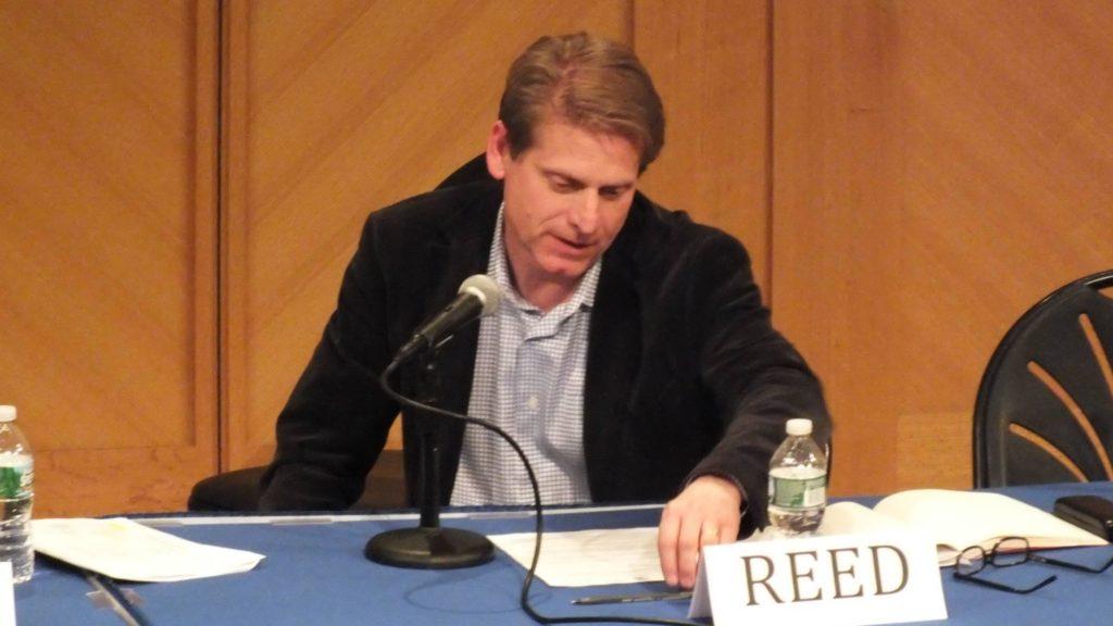 Professor Doug Reed presents on an Education Week panel
