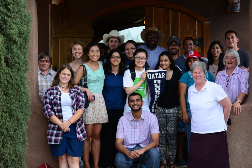 Georgetown Students and Staff at the US/Mexico Border